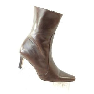 COLE HAAN D11828 Sz 6 Brown Boots Shoes For Women